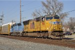 UP 5081 On CSX Q 243 Southbound