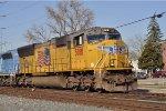 UP 5081 On CSX Q 243 South
