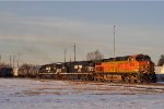 BNSF 4410 On NS 143 Eastbound