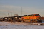 BNSF 4410 Eastbound On NS 143