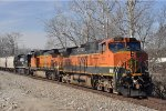 BNSF 972 On NS 40 X Eastbound