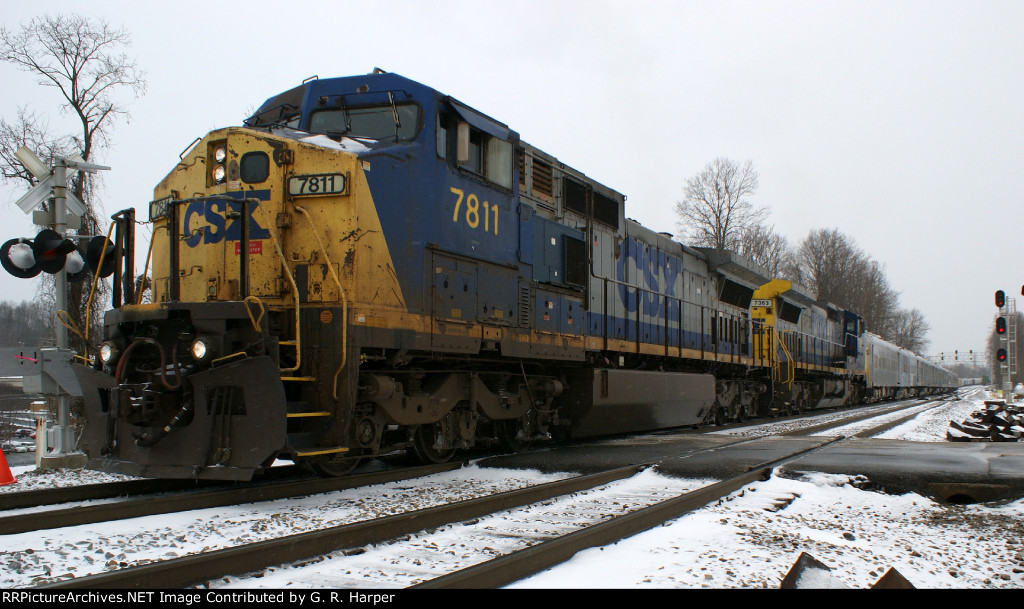 Hmmm.  Too bad such a shabby-looking unit is in charge of such a robust train
