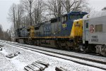 Going away shot of NS 048 with CSX power