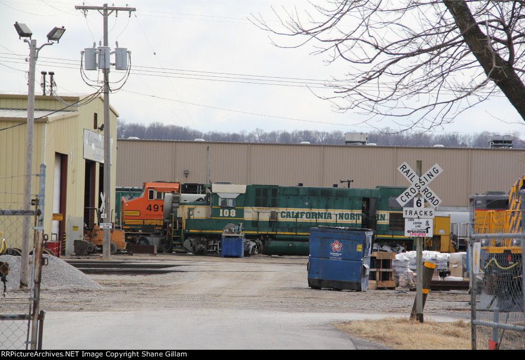 CFNR 108 Sitting in Kansas city Mo.