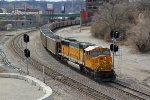 BNSF 9891 Solo motor on a empty coal train.