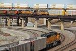 5 Trains at once in Kansas city Mo.