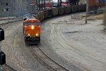 BNSF 5952 Leads a empty coal train up the Fort Scott Sub.