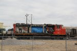 ATN 9401 Is in need of a big time repair and repaint.