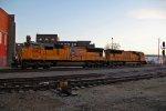 UP 4992 & UP 4824 run light power back toward Kansas City Ks.