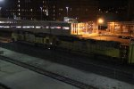 2 UP Ace's work a rack train WB.