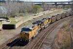 UP 6690 Heads up a WB empty coal train.