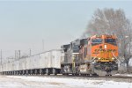 BNSF 6672 On NS 251 Eastbound At NS MP 29.0 NS Lake Div.