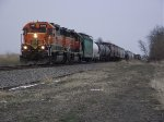 BNSF 2292 and 2001