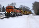 BNSF 2874 and 2002