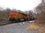BNSF 6242 and 5766