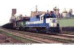 Coal train at Keokuk