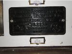 New Haven RS-1 0671 builders plate