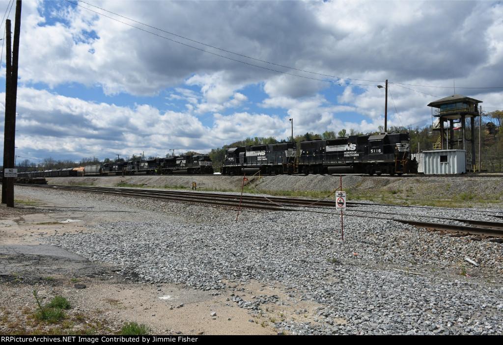 Train 65D empty ethanol