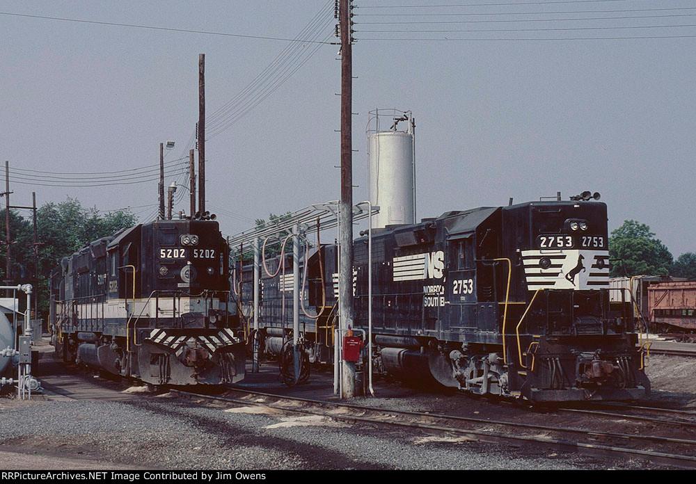 Hayne Yard engine facility.