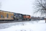 BNSF 5130 and NS 7525