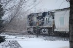 NS 8366 and NS 7586 in the winter scenery