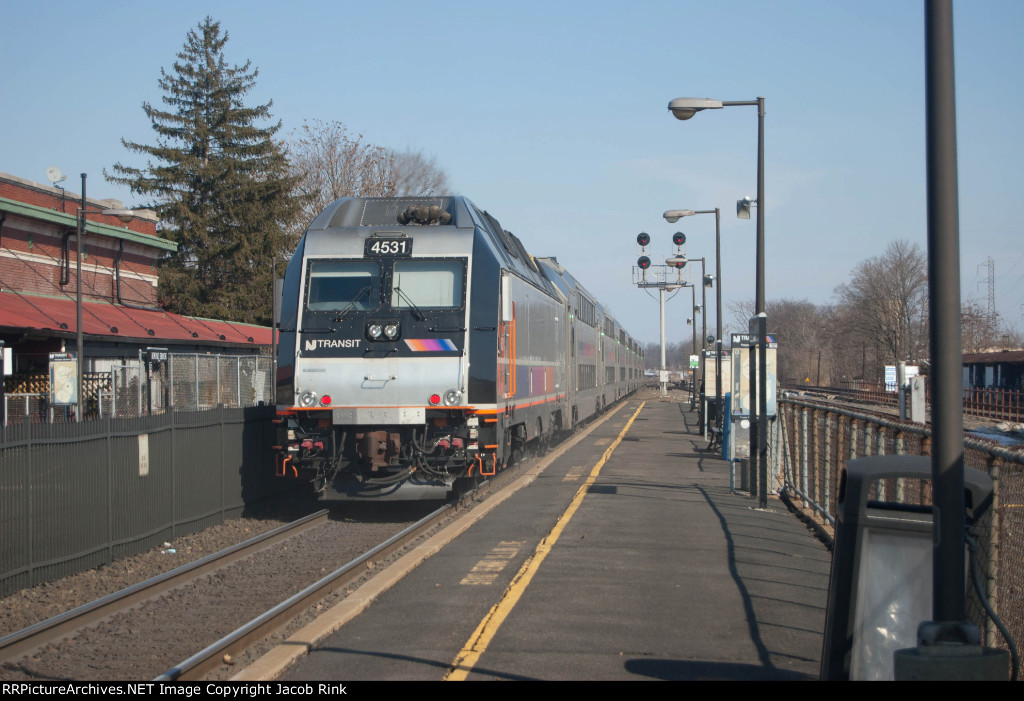 Pulling Out of Bound Brook