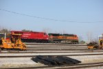 BNSF 1092 and CP 9556