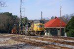 NS348 engine light passes Seneca Depot