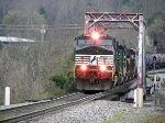 NS 8929 On the 112 Crossin the Clinch River