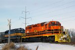 RCPE 3430 crosses Ontario Street as it leads 470 east out of town