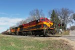 KCS 4797 EB at Bowman Road on the point of CP 280