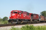 CP 6246 - a sweet leader and sweet light on eastbound train 288