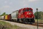 CP 2209 leads G67 through Tamarack just as 391's tail end clears
