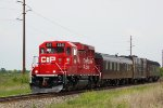 CP 2241 and the TEC train resume the trip west