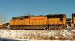 UP 4090 trailing on a CSX EB Intermodal