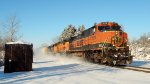 NS 13T Dashes Through The Snow in a Winter Wonderland