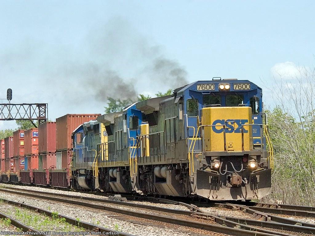 CSX 7600