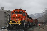BNSF 1812 Pulling Out Of The Golden BNSF Yard