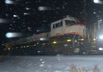 BNSF SD70MAC 9529 trails on 17G