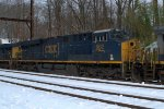CSX ES44AH 982 trails on Q438-05