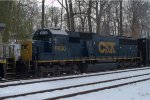 CSX SD50-2 8630 trails on S410-05