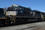 NS SD70ACe 1046 trails on WPFC-80