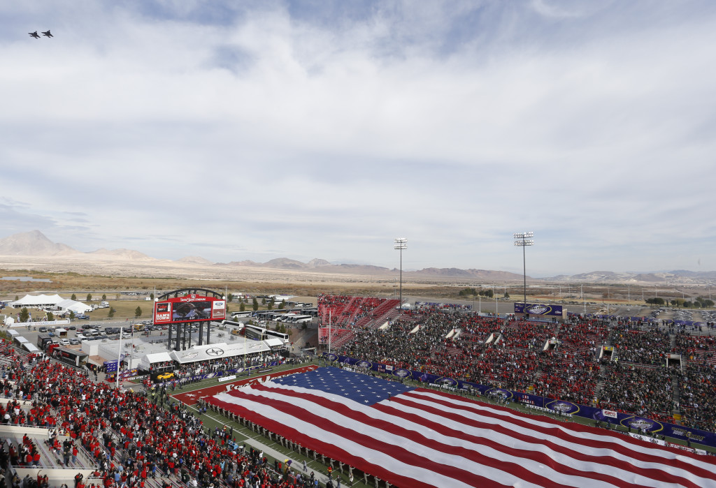 Royal Purple Las Vegas Bowl pregame activities at Sam Boyd Stadium on December 20, 2014. (Royal Purple Las Vegas Bowl)