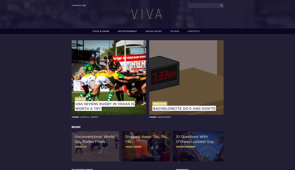 VIVA_Homepage