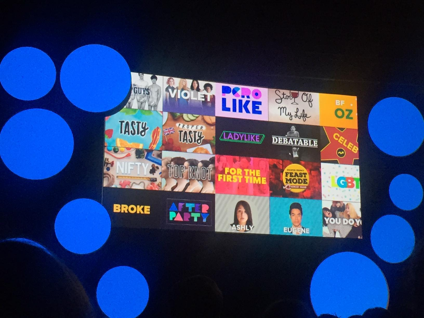 Buzzfeed video franchises