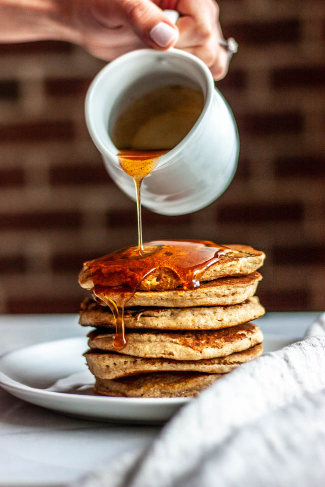 Spicy Honey Maple Syrup is a fun addition to shake up your breakfast. Add it to pancakes, frenchtoast...the options are endless.
