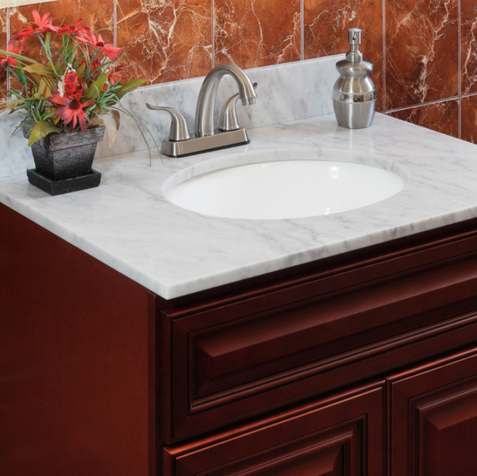 Bathroom vanity tops with sinks