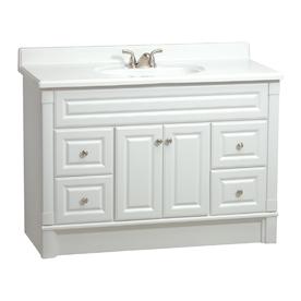 Alpine Raised Panel Bathroom Vanities - RTA Cabinet Store on