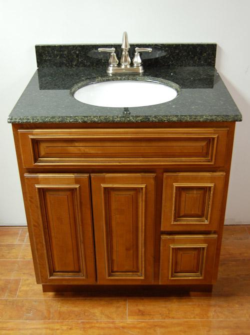 Rustic Brown Bathroom Vanities Rta Cabinet Store