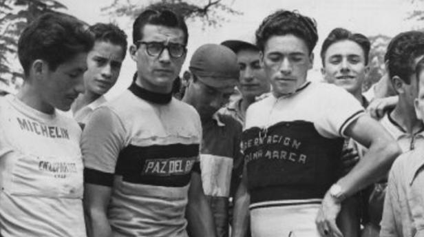 José Beyaert fue ganador de la Segunda Vuelta a Colombia, en 1952. Foto: Archivo El Tiempo